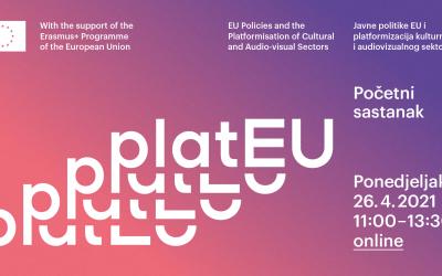 Objavljen program početnog sastanaka projekta platEU, 26.4.2021.