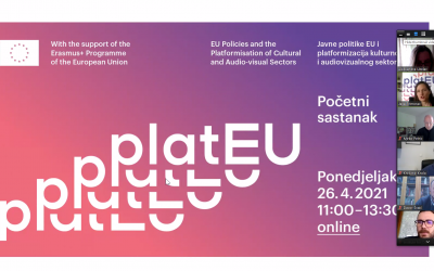 Report from the kick off meeting of the platEU project